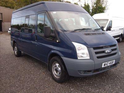 Ford Transit Minibus 2.4 TDCi 350 Duratorq Medium Roof Bus RWD L 4dr (15 Seats, LWB)