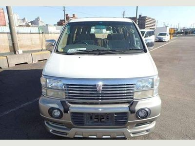 Nissan Elgrand MPV 4wd 3300cc captain seats sunroof curtain