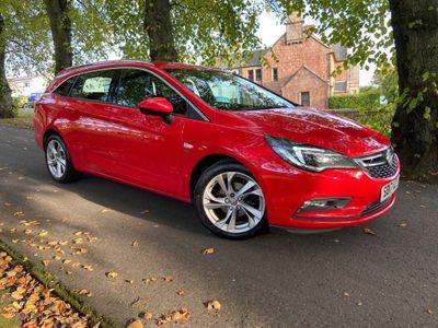 Vauxhall Astra Estate 1.4i Turbo SRi Nav Sports Tourer 5dr