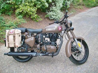 Royal Enfield Classic Military Naked 500