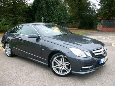 Mercedes-Benz E Class Coupe 2.1 E250 CDI BlueEFFICIENCY Sport Edition 125 7G-Tronic Plus (s/s) 2dr