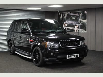 Land Rover Range Rover Sport SUV 3.0 SD V6 HSE Red Edition 4X4 5dr