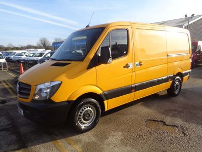 Mercedes-Benz Sprinter Panel Van 2.1 CDI BlueEFFICIENCY 313 Panel Van 4dr MWB