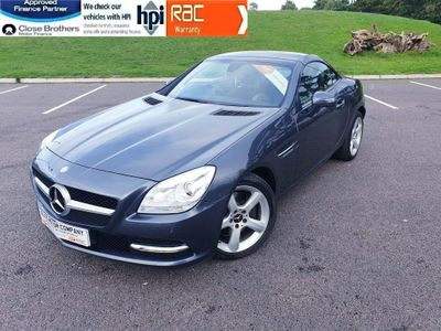 Mercedes-Benz SLK Convertible 2.1 SLK250 CDI BlueEFFICIENCY 7G-Tronic Plus (s/s) 2dr