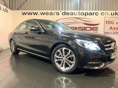 Mercedes-Benz C Class Saloon 1.6 C200 CDI BlueTEC Sport (s/s) 4dr