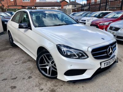Mercedes-Benz E Class Saloon 2.1 E250 CDI AMG Night Edition (Premium Plus) 7G-Tronic Plus 4dr
