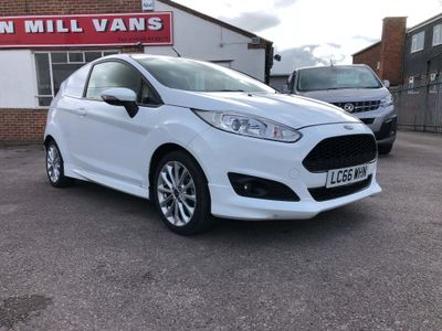 Ford Fiesta Car Derived Van 1.5TDCi 95BHP(EU6) 3 Door Sport Van