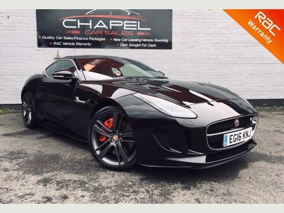 Jaguar F-Type Coupe 3.0 V6 Supercharged British Design Edition (AWD) 2dr