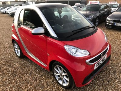 Smart fortwo Coupe 0.8 CDI Passion Softouch 2dr