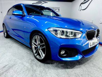 BMW 1 Series Hatchback 2.0 120d M Sport (s/s) 3dr