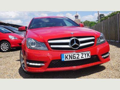 Mercedes-Benz C Class Coupe 2.1 C250 CDI BlueEFFICIENCY AMG Sport 7G-Tronic Plus 2dr (Map Pilot)