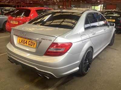 Mercedes-Benz C Class Saloon 6.3 C63 AMG Edition 507 MCT 4dr