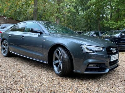 Audi A5 Hatchback 1.8 TFSI Black Edition Plus Sportback Multitronic (s/s) 5dr