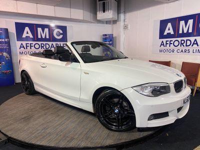 BMW 1 Series Convertible 2.0 118d Sport Plus Edition 2dr