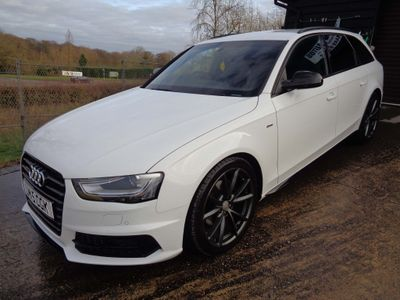 Audi A4 Avant Estate 2.0 TDI Black Edition Plus Avant Multitronic 5dr