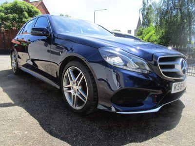 Mercedes-Benz E Class Saloon 2.1 E250 CDI AMG Line (Premium) 7G-Tronic Plus 4dr