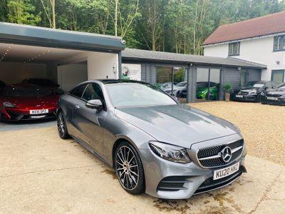 Mercedes-Benz E Class Coupe 2.0 E220d AMG Line Night Edition (Premium Plus) G-Tronic+ (s/s) 2dr