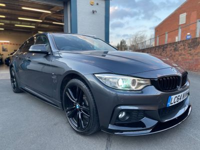 BMW 4 Series Gran Coupe Saloon 3.0 430d M Sport Gran Coupe Auto xDrive 5dr