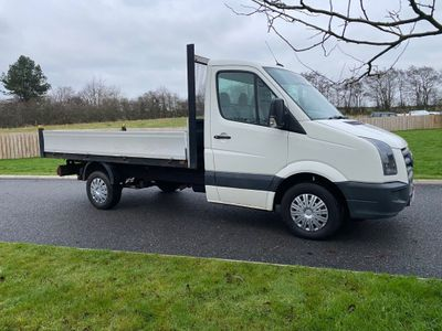 Volkswagen Crafter Chassis Cab 2.5 TDI CR35 Chassis Cab 2dr (MWB)