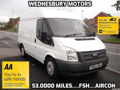 FORD TRANSIT Panel Van 280 SWB Medium Roof 100PS