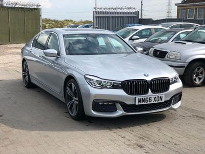 BMW 7 Series Saloon 3.0 730Ld Auto (s/s) 4dr