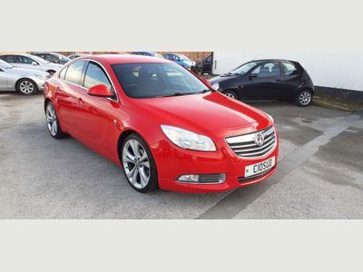 Vauxhall Insignia Hatchback 2.0 CDTi ecoFLEX 16v SRi VX Line Nav Red (s/s) 5dr