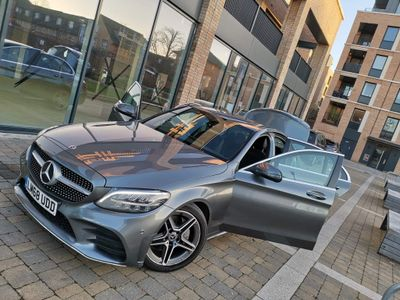 Mercedes-Benz C Class Saloon 1.5 C200 EQ Boost AMG Line G-Tronic+ (s/s) 4dr
