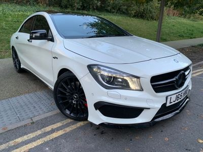 MERCEDES-BENZ CLA CLASS Coupe 2.0 CLA45 AMG Speedshift DCT 4MATIC (s/s) 4dr (Map Pilot)