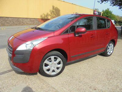 Peugeot 3008 SUV 1.6 HDi FAP Active EGC 5dr