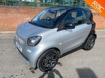 Smart fortwo Coupe 1.0 Prime (Premium) Twinamic (s/s) 2dr