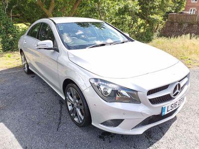 Mercedes-Benz CLA Class Coupe 2.1 CLA200 Sport 7G-DCT (s/s) 4dr
