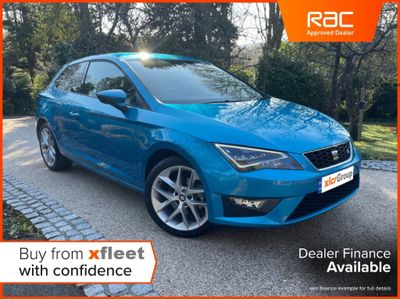 SEAT Leon Hatchback 1.4 EcoTSI FR (Tech Pack) SportCoupe DSG (s/s) 3dr