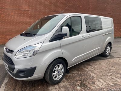 Ford Transit Custom Combi Van 2.2 TDCi 290 Limited Double Cab-in-Van L1 H1 6dr