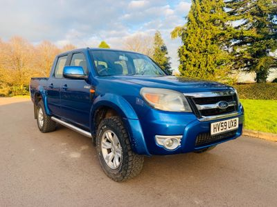 Ford Ranger Pickup 2.5 TDCi Thunder Double Cab Pickup 4x4 4dr