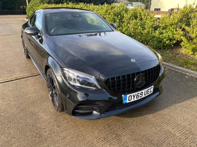 Mercedes-Benz C Class Coupe 1.5 C200 EQ Boost AMG Line (Premium) G-Tronic+ (s/s) 2dr