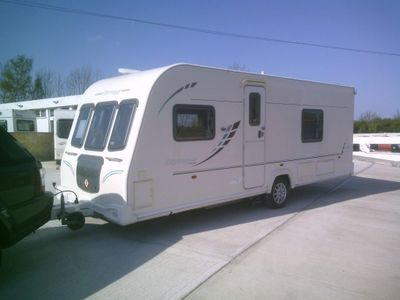 Bailey Olympus 534 Tourer FIXED BED WITH MOTORMOVER