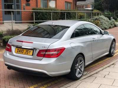 MERCEDES-BENZ E CLASS Coupe 1.8 E200 CGI BlueEFFICIENCY Sport 2dr