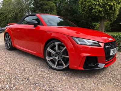 Audi TT RS Convertible 2.5 TFSI Roadster S Tronic quattro (s/s) 2dr