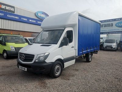 Mercedes-Benz Sprinter Curtain Side 313 Cdi Curtainside