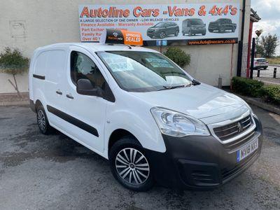 Peugeot Partner Combi Van 1.6 BLUEHDI 100 715 S 6 DOOR CREW CAB