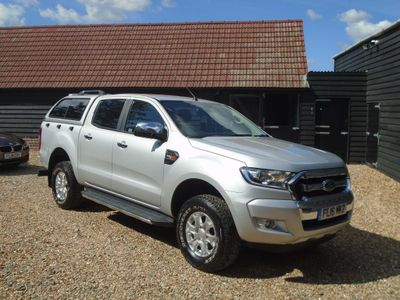 Ford Ranger Pickup 2.2 TDCi XLT Double Cab Pickup 4WD (s/s) 4dr (Eco Axle)