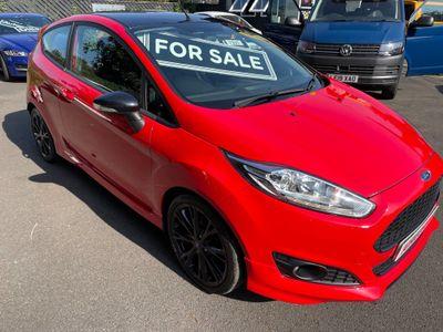 Ford Fiesta Hatchback 1.0 T EcoBoost Zetec S Red Edition (s/s) 3dr