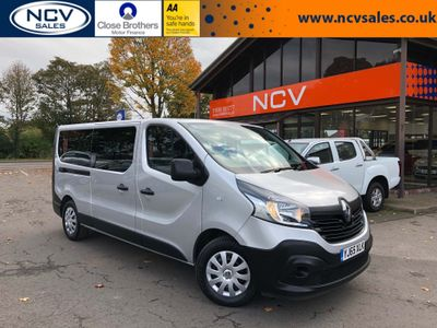 RENAULT TRAFIC Other 1.6 dCi Energy LL29 Business Passenger 5dr (9 Seats)