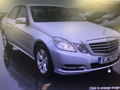 Mercedes-Benz E Class Saloon 2.1 E220 CDI BlueEFFICIENCY SE Edition 125 G-Tronic (s/s) 4dr