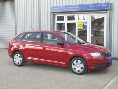 SKODA Rapid Spaceback Hatchback 1.2 TSI S Spaceback 5dr