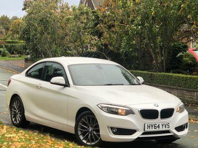 BMW 2 Series Coupe 2.0 218d SE Auto (s/s) 2dr