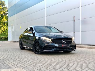 Mercedes-Benz CLA Class Coupe 2.0 CLA45 AMG Yellow Night Edition SpdS DCT 4MATIC (s/s) 4dr