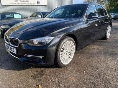 BMW 3 Series Saloon 2.0 320d BluePerformance Luxury (s/s) 4dr