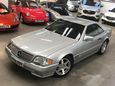 MERCEDES-BENZ SL CLASS Convertible 3.2 SL320 Limited Edition 2dr