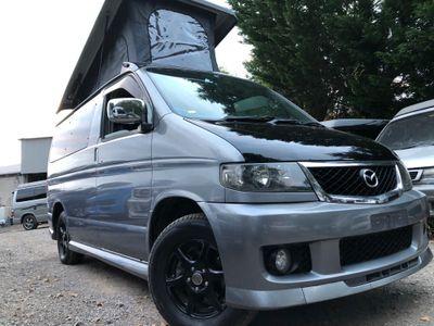Mazda BONGO POP TOP 4 BERTH NEW CONVERSION P Campervan PETROL FRESH IMPORT AUTO 62K